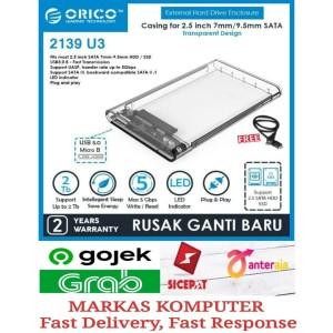 Harga casing hardisk external hdd case 2 5 34 usb 3 0   orico 2139u3 | HARGALOKA.COM