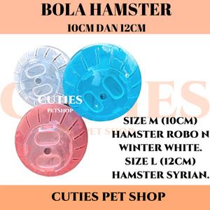 Harga jogging ball hamster murah bola hamster ball untuk syrian winter   | HARGALOKA.COM