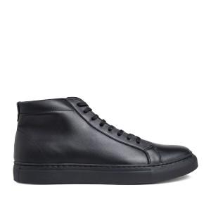 Harga prabu   chandra black sepatu kulit sneakers pria     HARGALOKA.COM