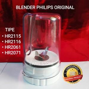Harga gelas bumbu 1set blender philips original hr 2115 2116 2061 | HARGALOKA.COM