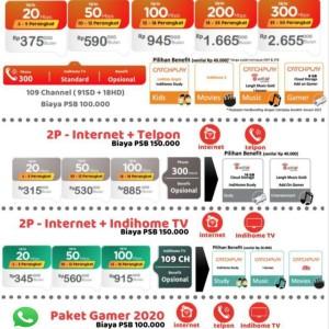 Harga indihome paket pasang internet wifi | HARGALOKA.COM