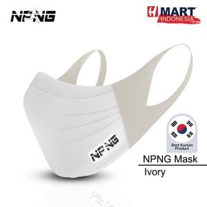 Harga npng sports mask   masker olahraga unisex ivory   | HARGALOKA.COM