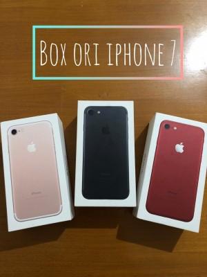 Harga box dus iphone 7 1000 original   | HARGALOKA.COM