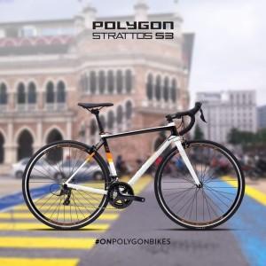 Harga promo wib 3 3 road bike polygon strattos s3 2021 size s dan m   | HARGALOKA.COM