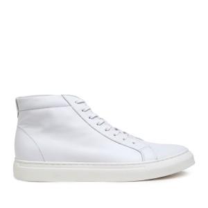Harga prabu   chandra white sepatu kulit sneakers pria     HARGALOKA.COM