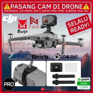 Harga drone action cam camera bracket dji mavic air 2 pro fimi x8   HARGALOKA.COM