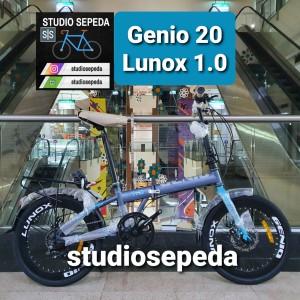 Harga sepeda lipat 20 genio lunox 1 0 by | HARGALOKA.COM