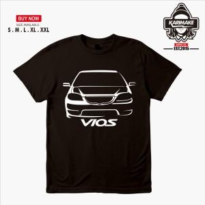 Harga kaos mobil toyota vios 1st gen kaos otomotif | HARGALOKA.COM