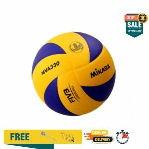 Harga Bola Voli Mikasa Voli Volly Volley Mva 300 Original Made In Thailand Katalog.or.id