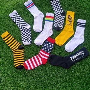 Harga kaos kaki motif oldschool kaos kaki skate kaos kaki | HARGALOKA.COM