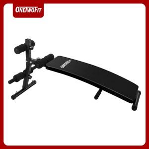 Harga onetwofit sit up bench alat olahraga rumahan fitness | HARGALOKA.COM