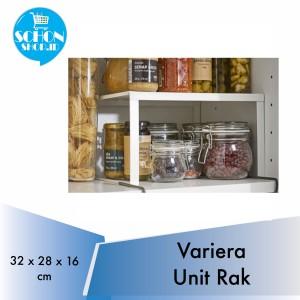 Harga sisipan rak dapur serbaguna varrera putih   HARGALOKA.COM