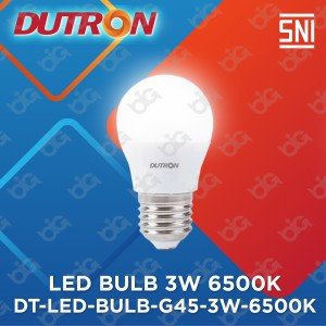 Harga dutron lampu led bulb g45 3 w 6500k | HARGALOKA.COM