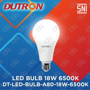 Harga dutron lampu led bulb a80 18 w 6500k | HARGALOKA.COM