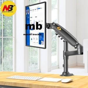 Harga new bracket monitor breket jepit meja braket tv nb h80 15 34   HARGALOKA.COM