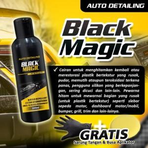 Harga auto detailing penghitam body motor mobil permanen black magic | HARGALOKA.COM