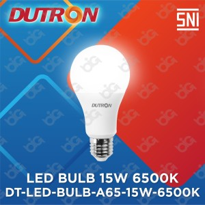 Harga dutron lampu led bulb a65 15 w 6500k | HARGALOKA.COM