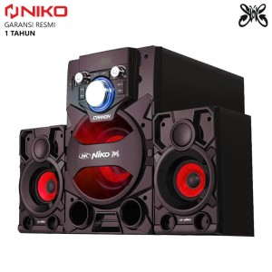 Harga niko slank cannon speaker bluetooth aktif 2 1     HARGALOKA.COM