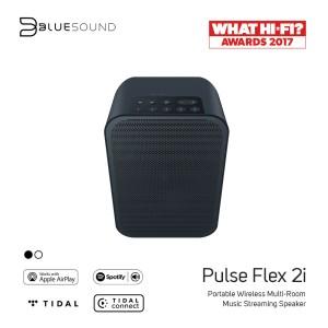 Harga bluesound pulse flex 2i portable music streaming speaker black | HARGALOKA.COM