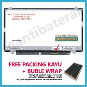 Harga led lcd laptop hp pavilion 14 14 g008au 14 g102au 14 b035tx 14 | HARGALOKA.COM