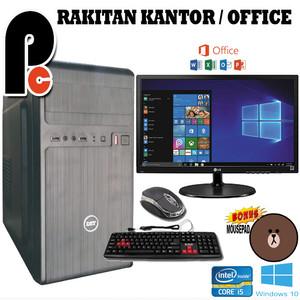 Harga pc komputer rakitan office kantor core i5 lengkap pc   HARGALOKA.COM