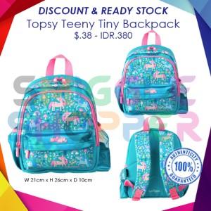 Harga smiggle ori topsy teeny tiny backpack girl   HARGALOKA.COM