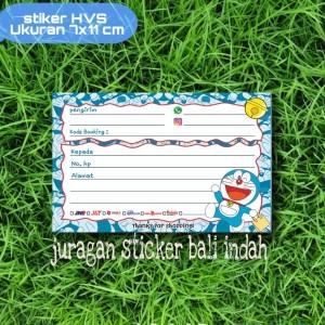Harga stiker pengiriman online shop label pengiriman murah  motif doraemon   doraemon   HARGALOKA.COM