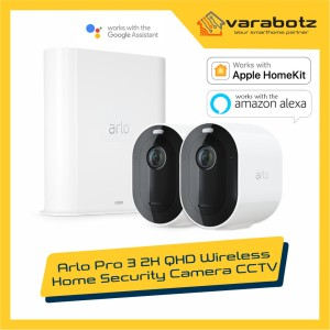 Harga arlo pro 3 2k qhd wireless home security camera | HARGALOKA.COM