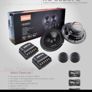 Harga speaker split 6 5inch component seat high | HARGALOKA.COM