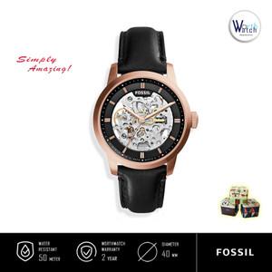 Harga jam tangan pria otomatis fossil me 3084 automatic skeleton   HARGALOKA.COM