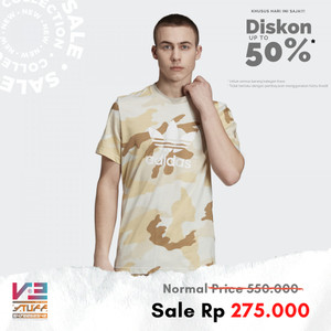 Harga kaos adidas pria original comouflage trefoil tee   | HARGALOKA.COM