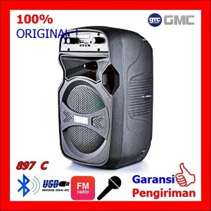 Harga spekaer portable meeting speaker portable wireless 897 c 897 c | HARGALOKA.COM