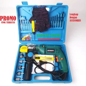 Harga promo paket mesin bor listrik modern m 2130b mesin bor tangan | HARGALOKA.COM