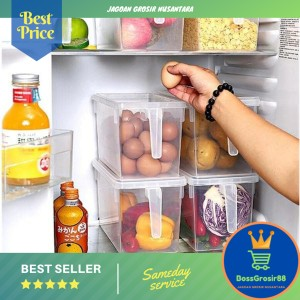 Harga kotak penyimpanan makanan di kulkas box organizer | HARGALOKA.COM