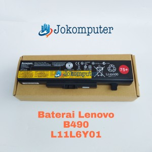 Harga batre baterai batery batere original laptop lenovo b490 | HARGALOKA.COM