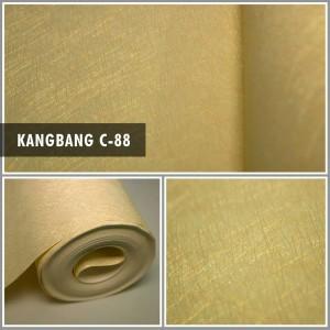 Harga walpaper dinding kamar kantor murah motif serat polos timbul   | HARGALOKA.COM