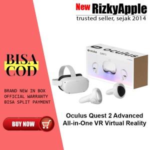 Harga oculus quest 2 256gb advanced all inone vr virtual reality gaming 64gb   | HARGALOKA.COM