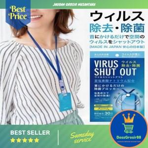 Harga virus shut out kalung anti virus 1000 original japan | HARGALOKA.COM