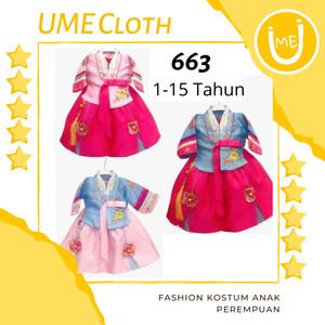 Harga korean hanbok   baju adat tradisional korea anak perempuan 1 15 tahun   | HARGALOKA.COM