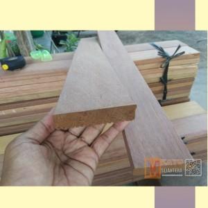 Harga papan decking lantai outdoor kayu bengkirai sisa export panjang 150 | HARGALOKA.COM