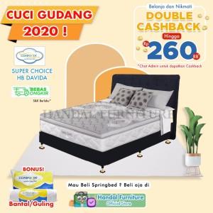 Harga special edition comforta set kasur spring bed super choice 180 x | HARGALOKA.COM