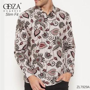 Harga baju pria kemeja batik slimfit baju pesta baju keluarga lb168   | HARGALOKA.COM