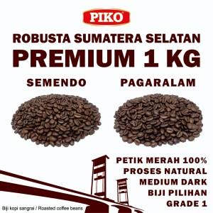 Harga kopi robusta sumatera selatan premium 1 kg roasted biji kopi bubuk   pagar alam biji   HARGALOKA.COM