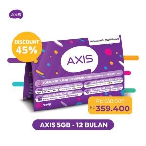Harga kartu perdana paket axis 24 jam 5gb 30 hari 12 bulan | HARGALOKA.COM