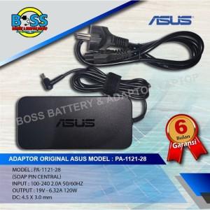 Harga adaptor original asus rog g501 u500v 19v 6 32a 120w dc 4 5x3 | HARGALOKA.COM