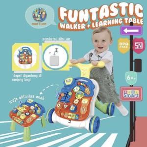 Harga bebe smart 5in1 smart musical walker alat bantu jalan bayi   | HARGALOKA.COM