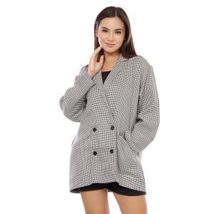 Harga cottonology blazer wanita selly hitam   HARGALOKA.COM