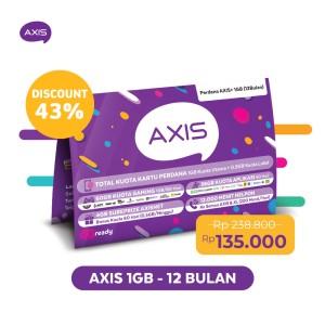 Harga kartu perdana paket axis 24 jam 1gb 30 hari 12 bulan | HARGALOKA.COM