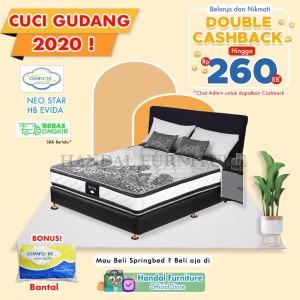Harga special edition comforta set kasur spring bed neo star 180 x | HARGALOKA.COM