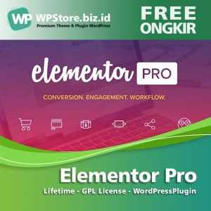 Harga elementor pro   gpl license   lifetime wordpress | HARGALOKA.COM